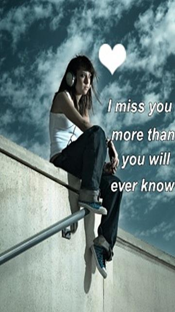 U are so far away, yet u are here..