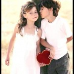 A Boy And A Girl Were Playing Together,