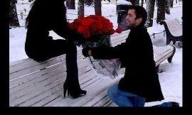 Cutest proposal . . .