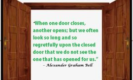 The doors are open for you