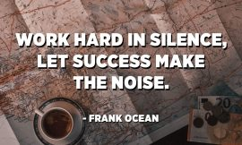 Success Makes The Noise