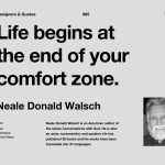 Read more about the article Life begins at the End of Your Comfort Zone