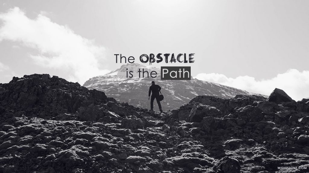 obstacle is path